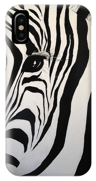 The Zebra With One Eye IPhone Case