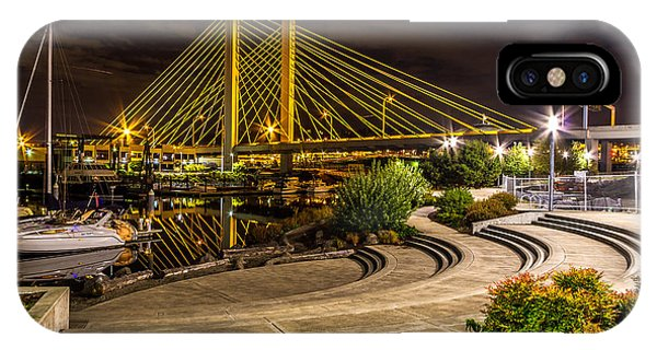 Thea Foss Waterway Hwy 509 Bridge IPhone Case