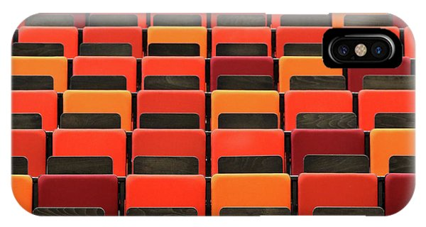 Chair iPhone Case - Theater by Hans-wolfgang Hawerkamp