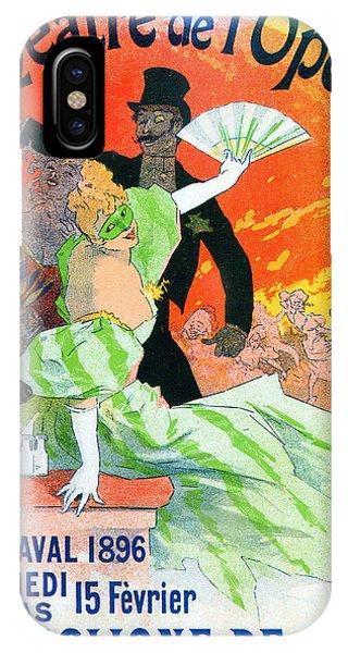Theatre De Opera 1896 Carnival IPhone Case