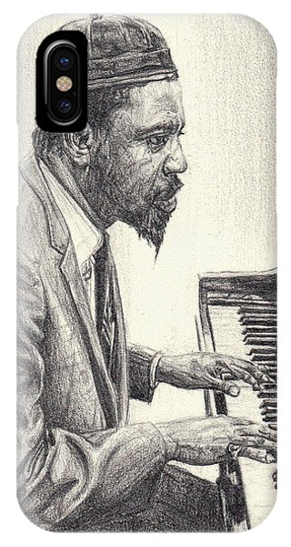 Thelonious Monk II IPhone Case