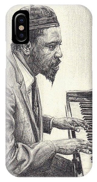 Thelonious Monk II IPhone Case