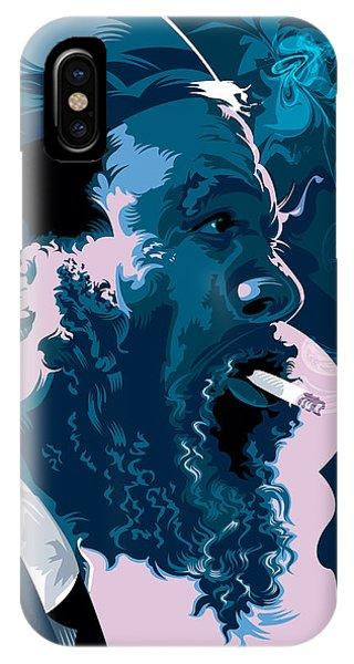 Buddhism iPhone Case - Thelonius Monk by Garth Glazier