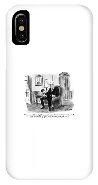 Small Business iPhone Case - There Are The Arts by Warren Miller