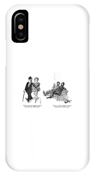 Repeat iPhone Case - There Is A Perfect Example Of What Is Wrong by James Mulligan
