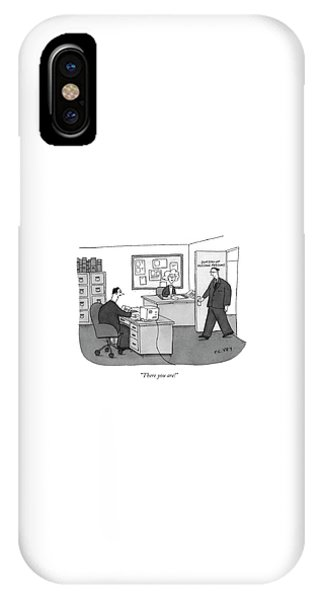 Missing iPhone Case - There You Are! by Peter C. Vey