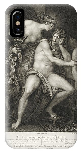 Thetis Bearing The Armour To Achilles IPhone Case