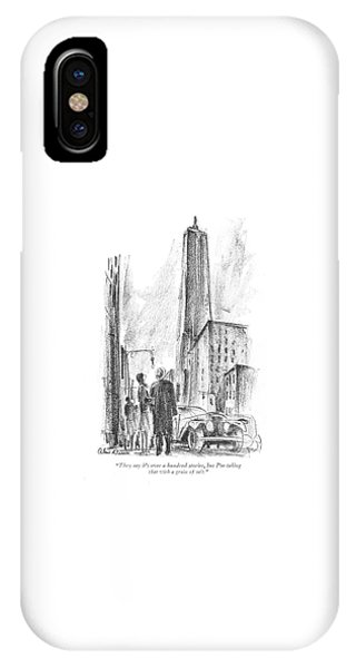 They Say It's Over A Hundred Stories IPhone Case