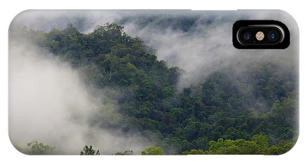 Far North Queensland iPhone Case - Thick Cloud Covers The Tropical by Paul Dymond