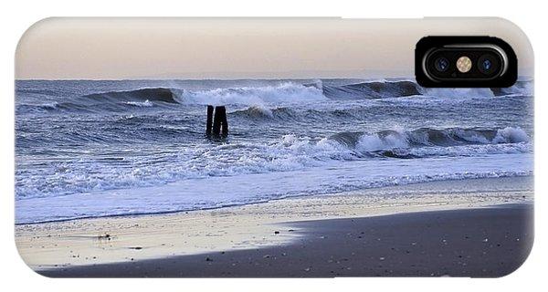Think Metal - Morning Ocean Rockaways IPhone Case