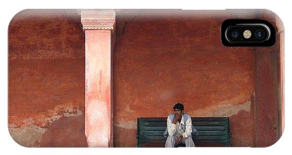 Thinking Man IPhone Case