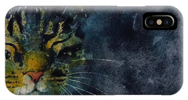 Tabby iPhone Case - Thinking Of You by Paul Lovering
