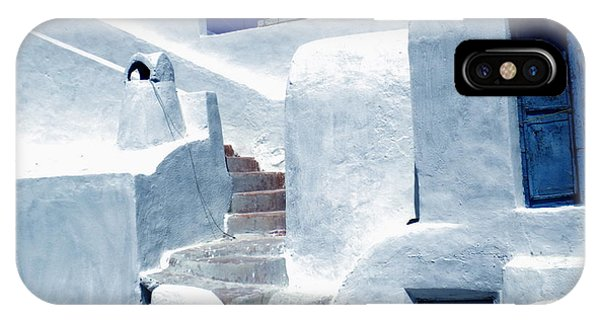 Thirasia Island Ancient House Near Santorini Greece IPhone Case