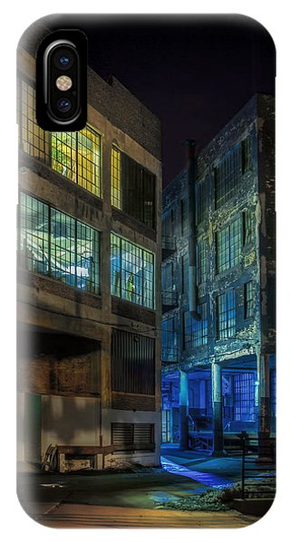 Industrial iPhone Case - Third Ward Alley by Scott Norris