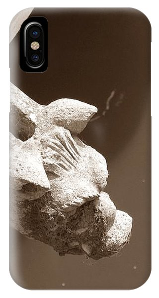 Thirsty Gargoyle - Sepia IPhone Case