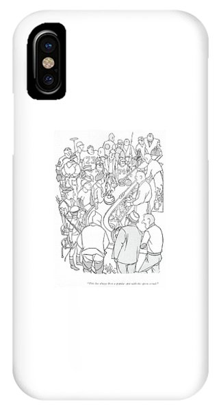 Pub iPhone Case - This Has Always Been A Popular Spot by George Price