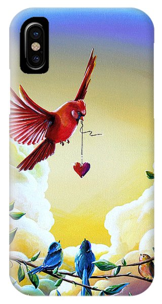 Chickadee iPhone Case - This Heart Of Mine by Cindy Thornton
