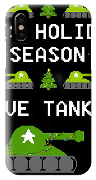 This Holiday Season Give Tanks IPhone Case