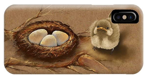 Illusion iPhone Case - This Is My Nest? by Veronica Minozzi