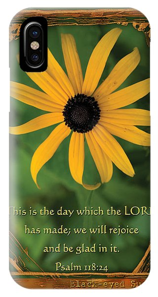 This Is The Day Sunflowers IPhone Case