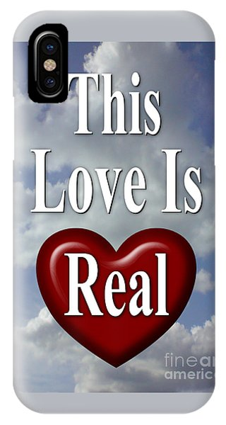 This Love Is Real IPhone Case