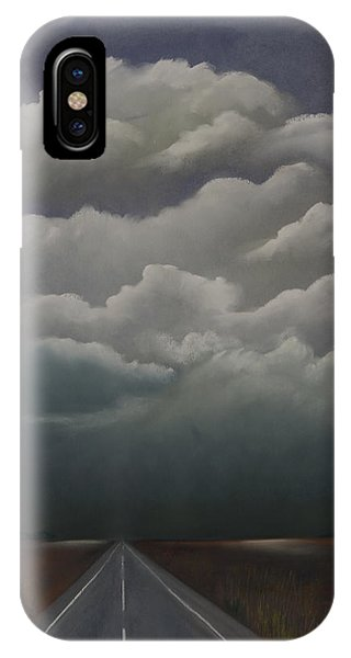 This Menacing Sky IPhone Case