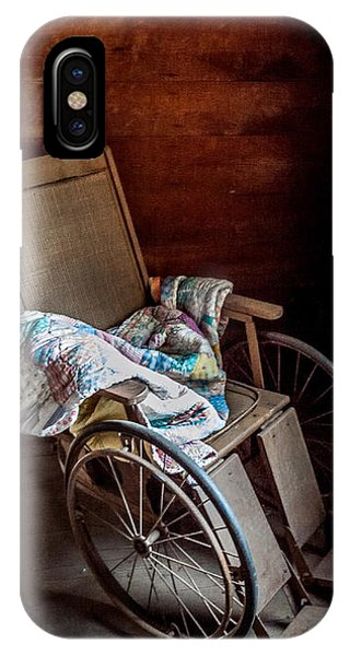 Wheelchair With A View IPhone Case