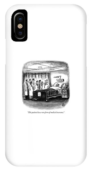 This Patient Has A Rare Form Of Medical Insurance IPhone Case