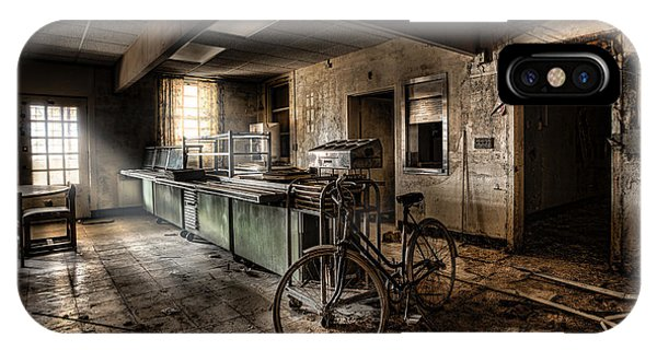 This Would Be The End - Cafeteria - Abandoned Asylum IPhone Case