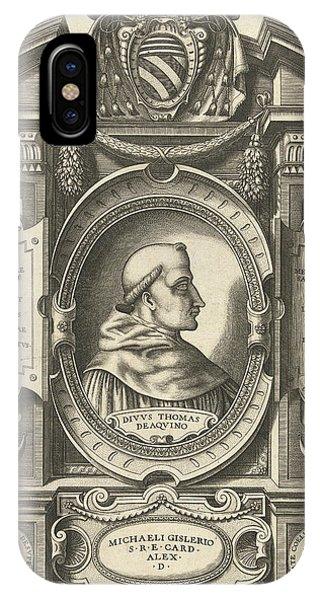 Thomas Aquinas, Jacob Bos, Antonio Lafreri IPhone Case