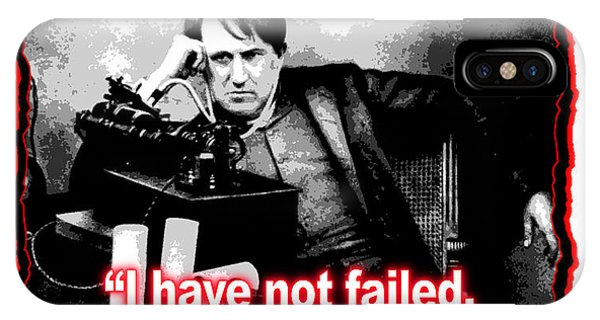 Thomas Edison On Failure IPhone Case