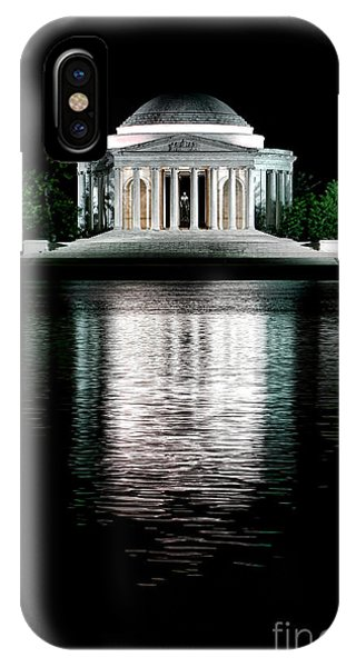 Jefferson Memorial iPhone Case - Thomas Jefferson Forever by Olivier Le Queinec
