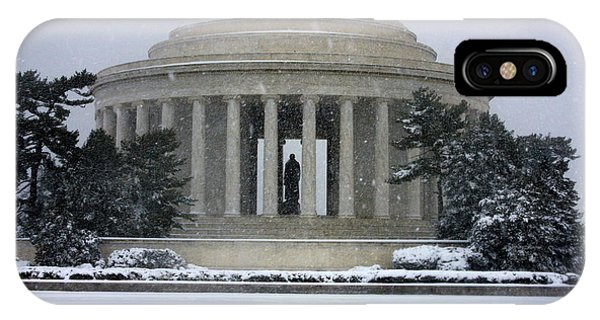 Thomas Jefferson Memorial IPhone Case