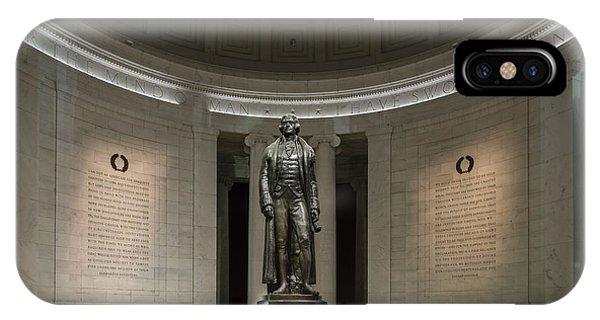 Thomas Jefferson Memorial At Night IPhone Case