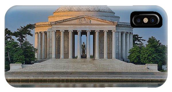 Thomas Jefferson Memorial At Sunrise IPhone Case