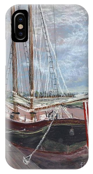 Thomas Lannon Schooner IPhone Case