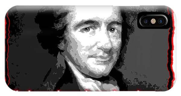 Thomas Paine My Religion Is To Do Good IPhone Case