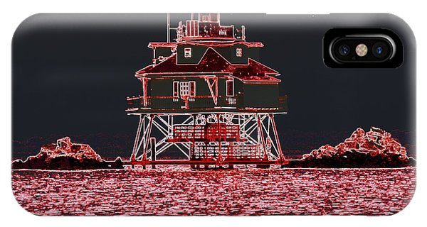 Thomas Point Light House IPhone Case