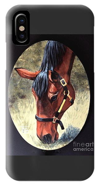 Thoroughbred Head IPhone Case