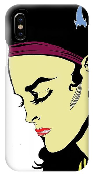 Thoughtful Woman 2 IPhone Case