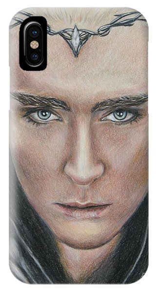 iPhone Case - Thranduil / Lee Pace by Christine Jepsen