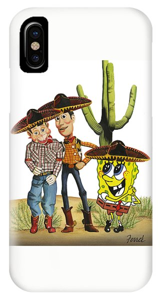 Three Amigos IPhone Case