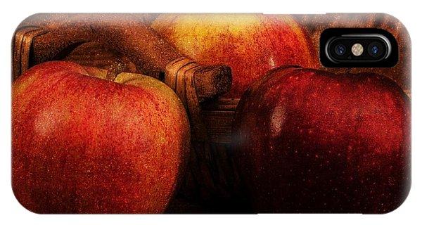 Three Apples IPhone Case