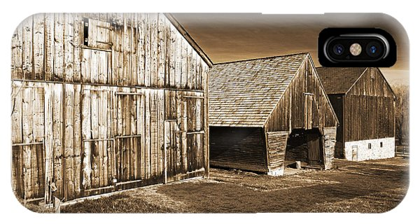 Three Barns Phone Case by John Rizzuto