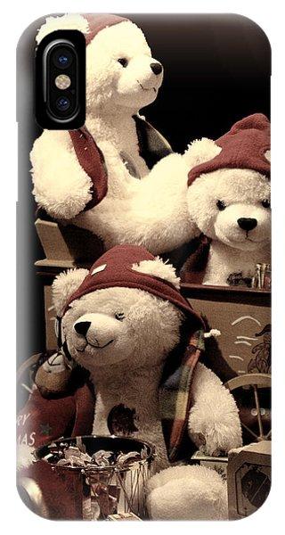 Three Bears Creative IPhone Case