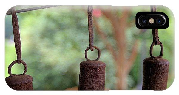 Three Bells - Square IPhone Case
