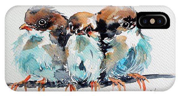 Three Birds IPhone Case