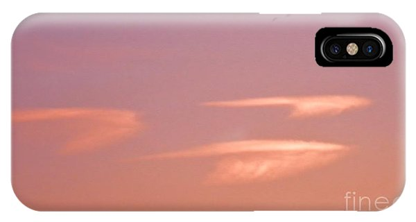 Three Clouds Three Geese IPhone Case