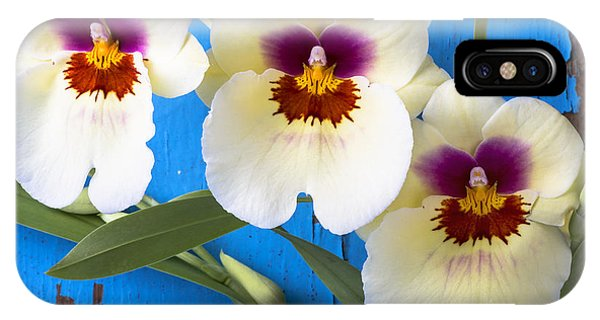 Three Exotic Orchids IPhone Case