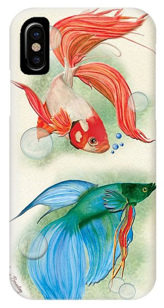 Three Fish IPhone Case